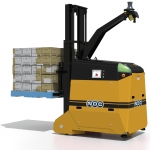 Dematic delivers its first automated guided vehicles