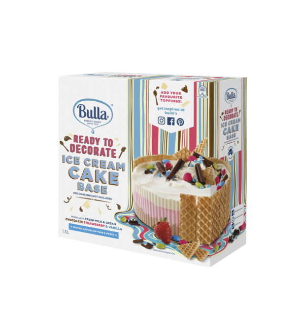 Ready To Decorate Ice Cream Cake Base Food Beverage Industry News