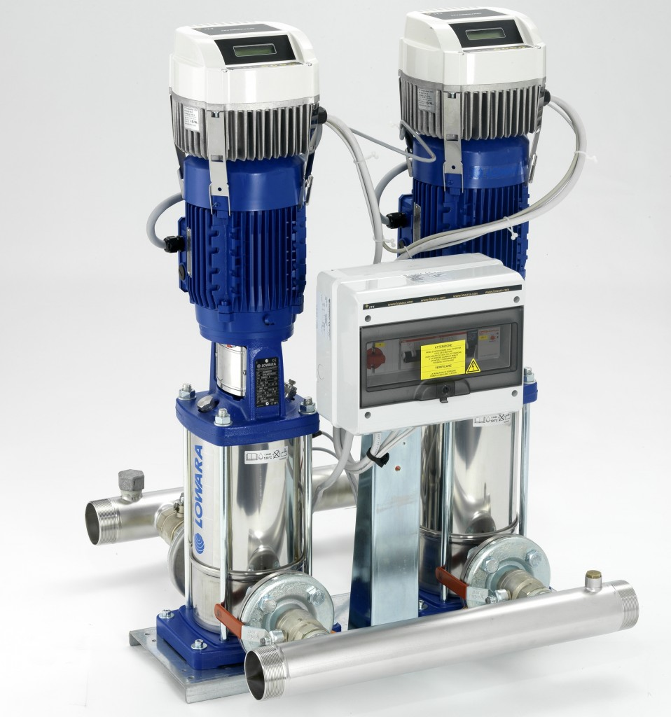 The Lowara GHV series booster sets are fully automatic booster sets for water supply.