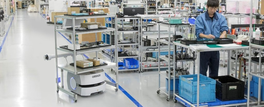The factory of the future will be smart_Omron-smart factory mobile-robot