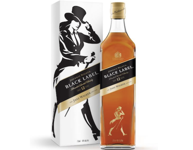 Jane to replace Johnnie on some scotch bottles
