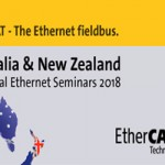 Australia and New Zealand Industrial EtherCAT Seminar Series 2018